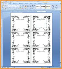 Avery Templates 5390 010 Word Name Tag Template Outstanding Ideas Microsoft Badge