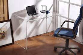 clear office desk. Acrylic Desk Chair Office CEG Portland Is Throughout Computer Decor 1 Clear
