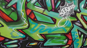 green red and black wall graffiti preview
