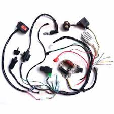 50cc 70 90cc 110cc 125cc wire loom wiring harness cdi assembly atv Coolster 110cc Atv Wiring Diagram image is loading 50cc 70 90cc 110cc 125cc wire loom wiring coolster 110 atv wiring diagram