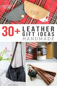 30 handcrafted leather gifts you ll want to give and get