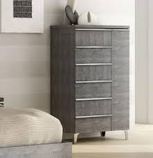 tall dresser chest. View Larger Gallery Elite Chest Of Drawers In Grey Birch Look Veneer Tall Dresser