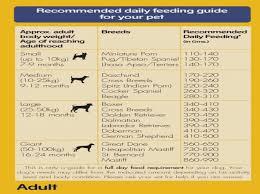 Great Dane Food Chart Pedigree Adult Dog Food Meat Rice 10 Kg Nappets