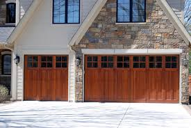 Simple Double Garage Doors With Windows Car Front Facing Attached Splits Stalls Into To Ideas