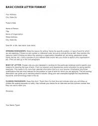 Basic Cover Letter Format Fresh 16 Best Cover Letter Samples For ...