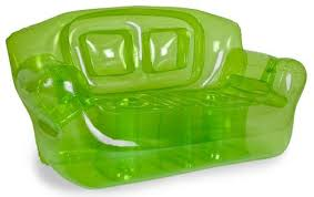 Bubble Inflatables Inflatable Couch, Garden Green