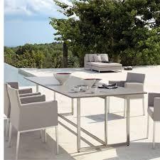 Ensemble table chaise exterieur table d extérieur en bois | Amoretti ...