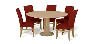 discus oak round dining table dining chairs colour
