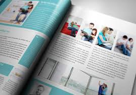 free magazine layout template indesign pro magazine template kalonice