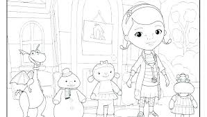 Doc Mcstuffins Free Coloring Pages Free Coloring Sheets Doc Pages