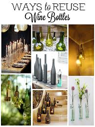 Home Decor With Wine Bottles Wine Bottle Decorations 49