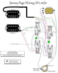 17 bästa bilder om circuitos de guitarras på gibson jimmy page 50s wiring mylespaul com