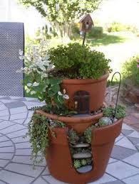 fairy garden pots. Outdoor-fairy-garden-19.jpg Fairy Garden Pots