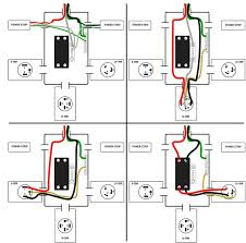 build a 240v power adapter for your mig welder make figure 21 each outlet s wiring