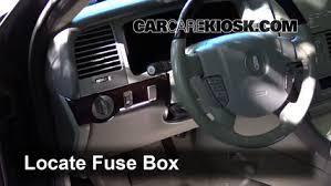 interior fuse box location 2003 2005 2004 Lincoln Navigator Fuse Box Location 2004 Lincoln Navigator Dash Fuse 101