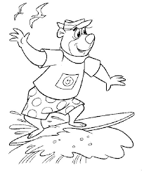 You can print or color them online at getdrawings.com for absolutely free. Yogi Bear Coloring Pages 18 Free Printable Coloring Pages Coloring Home