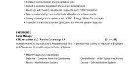 Hvac Service Technician Resume Examples Mechanic Sampl