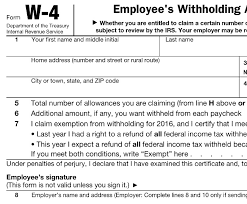 2016 federal ine tax withholding