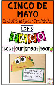 Cinco De Mayo End of the Year Bulletin ...