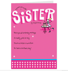 birthday invitations card funny birthday es sister unique