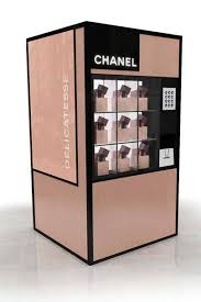 Chanel Vending Machine Interesting Chanel Fashions Night Out 48 Nails Twinsets Vending Machines