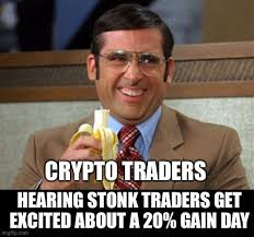 Whatever happens, it is vital to see the bright side of trouble. Crypto Trading Memes Me Too Meme Memes Meme Template