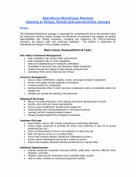 Forklift Resume With No Experience Warehouse Associate Cover Letters Awesome Warehouse Worker Cover 7