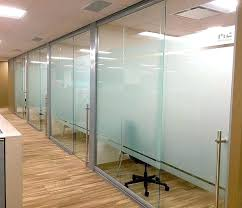 glass wall panels sliding office doors fronts and cost costs lime green ext