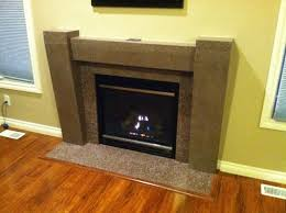 fan made f g angelo sons created this fireplace surround project using quikrete
