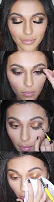 31 makeup tutorials for brown eyes gold smokey eye tutorial eye makeup tutorial