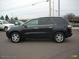 gmc acadia 2008 slt. Simple Slt 2008 Acadia SLT  Carbon Black Metallic  Ebony Photo 1 Inside Gmc Slt A