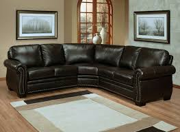 creative of small leather sofa with chaise with gorgeous sectional brown leather sectional couches f19 sectional