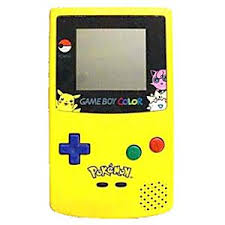 Pokemon Game Boy Color System Used