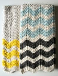 Chevron Knitting Pattern Mesmerizing Knitting Patterns Galore Chevron Baby Blanket In Merino