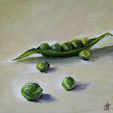 peas painting peas in a pod by cari humphry