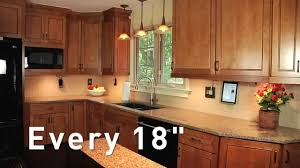 Kitchen under counter lighting Undermount Youtube Adorne How To Plan Your Undercabinet Lighting System Youtube