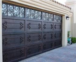 These a kind of iron shutters garage doors are used for garages that have  only the