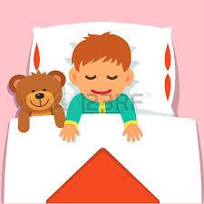 warm blanket clipart. warm blanket: baby boy sleeping with his plush teddy bear toy. flat style vector blanket clipart