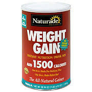 naturade weight gain vanilla instant nutrition drink mix select options for rating is 0 stars out of 5 stars