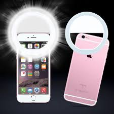 Iphone Light When Phone Rings Selfie Lamp Universal Selfie Led Ring Flash Light Portable
