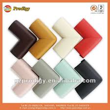 table edge guard. l-shaped rubber bumper strip anticollision foam decorative table edge guard