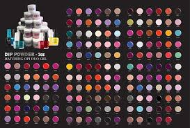 Uzu 3in1 Dipping Powder Gel Polish Nail Lacquer Matching Opi 2oz Full Line Of 211 Colors