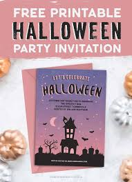 How To Make Printable Invitations 013 Free Printable Halloween Party Invitation Template Ideas