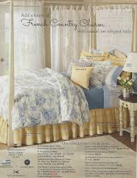 from the country curtains catalog french country charm bedroom in blue yellow and white