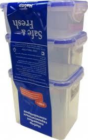 <b>Набор из 3</b> пищевых <b>контейнеров</b> SF-Н02 Многопрофильная ...