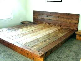 making a wooden bed frame how to make a platform bed frame build wooden platform bed