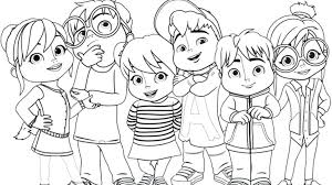 alvin and the chipmunks coloring page and the chipmunks coloring pages 3 alvin and the chipmunks