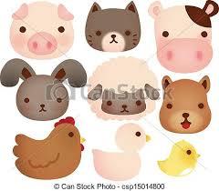 cute farm animals drawings. Exellent Farm Collection Of Cute Farm Animals  Csp15014800 In Cute Farm Animals Drawings U