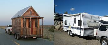 Small Picture Whats the difference between an RV and a Tiny House Cozy Home