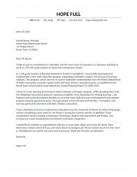 Letters Of Application 10 Examples Of Cover Letters For Teachers 1mundoreal